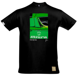 Lamborghini Miura T-Shirt by Joel Clark - iconic-cloth