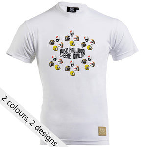 Speed Icons Gent's T-Shirt - 'Lids' Design by Joel Clark - iconic-cloth