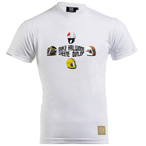 Speed Icons Gent's T-Shirt - 'Lids' Design by Joel Clark - Iconic Cloth