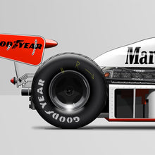 LAST CORNER - MCLAREN M23-FORD FUJI SPEEDWAY 1976 - iconic-cloth