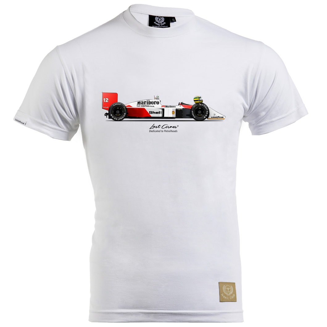 McLaren MP4-4 T-Shirt by Last Corner - iconic-cloth