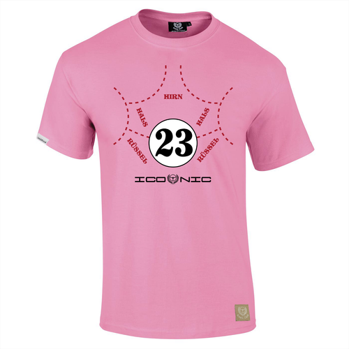Porsche 917/20 'Pink Pig' 1971 Le Mans T-Shirt by Iconic Cloth - iconic-cloth