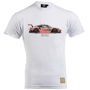 "Porsche 911RSR ""Return of the Pink Pig"" T-Shirt by Last Corner - iconic-cloth"