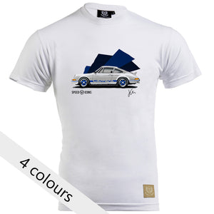 Porsche 2.7 RS Gent's T-Shirt by Joel Clark - iconic-cloth