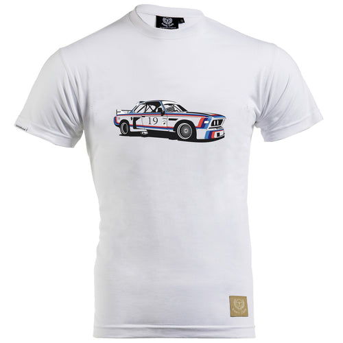 BMW CSL 3.5 Gent's T-Shirt by Remove Before - iconic-cloth