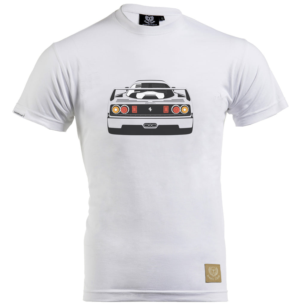 Ferrari F40 Gent's T-Shirt by Remove Before - Iconic Cloth
