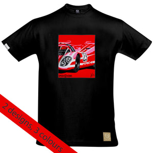 Porsche 917 Salzburg T-Shirt by Joel Clark - iconic-cloth