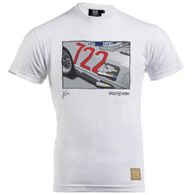 Mercedes Benz 300SLR Gent's T-Shirt by Joel Clark - iconic-cloth