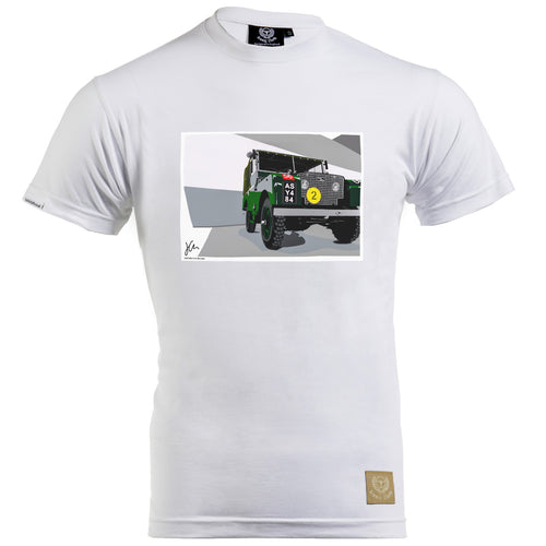 Land Rover Series 1 T-Shirt by Joel Clark - iconic-cloth