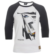 Lamborghini Countach LP500 Gents Baseball T-Shirt By Joel Clark - Iconic Cloth
