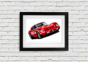 "Signed, Limited Edition Joel Clark Print ""GTO"" - Iconic Cloth"