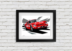 "Signed, Limited Edition Joel Clark Print ""GTO Slash"" - Iconic Cloth"