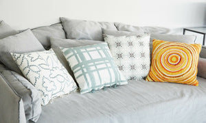 The Chutney Style Guide: 3x how to style a grey sofa