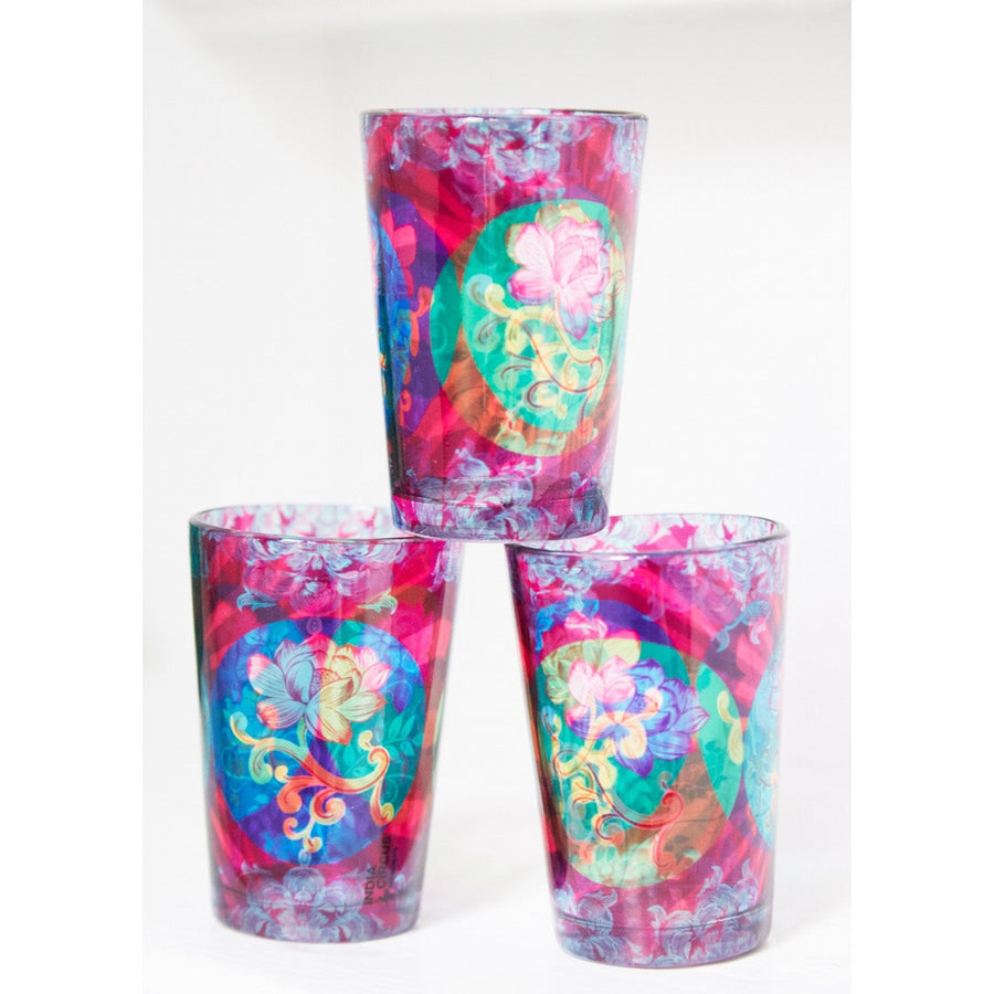 Enchanted Allure Chai Glasses