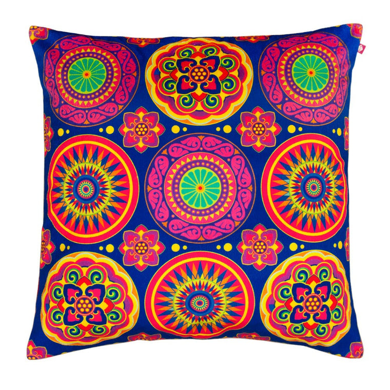 Circular Chaos Cushion Cover