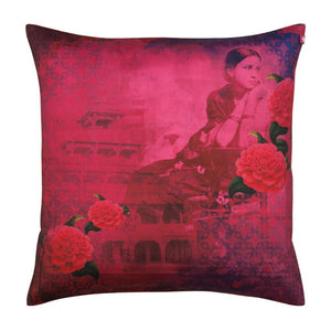 Deep in Thought Cushion Cover