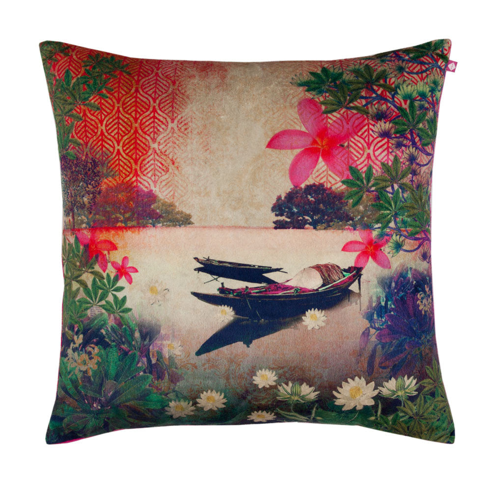 River Boat Cushion Cover