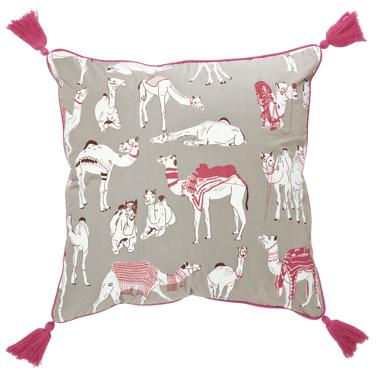 Different Different Camels Cushion Cover
