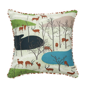 Spotted Deer Cushion Cover