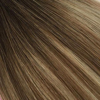 Balayage Mixed Brown #T2-4/27 Russian Tape Hair Extension