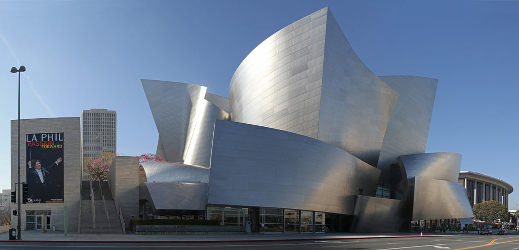 Disney Concert Hall, Los Angeles - home of the LA Phil