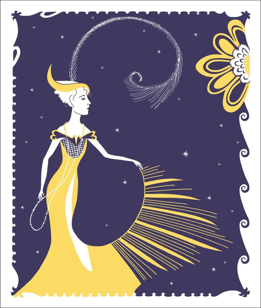 Queen of the Night greeting cards by Peawit Press