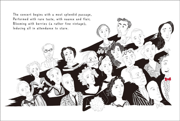 Audience ☆ The Hapless Rehearsal - illustrated book