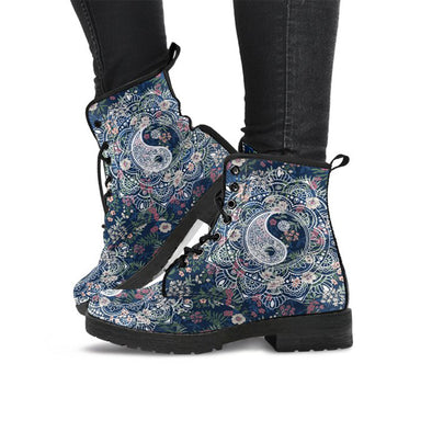Boots Yin Yang Floral