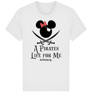 PIRATE LIFE - T-Shirt blanc face