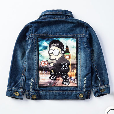 VESTE DENIM LONDON SIMPS