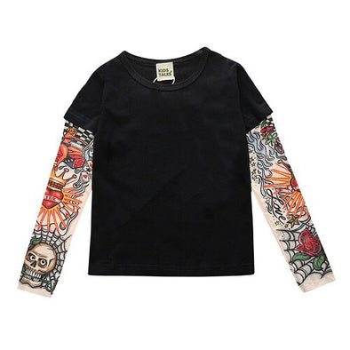 T-shirt Manches Longues Tattoo Love