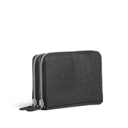 Still Nordic Evie Duo Wallet w/croco Small items Black Croco