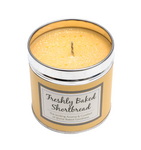Scented Candle Tin - Freshly Baked Shortbread