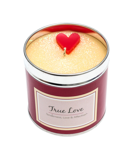 Scented Candle Tin - True Love