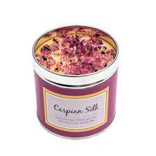 Scented Candle Tin - Caspian Silk
