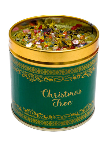 Christmas Scented Candle Tin - Christmas Tree