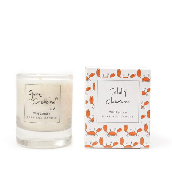 Gone Crabbing Candle - Totally Clawsome