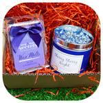 A Scented Hug - Starry Starry Night Candle & Plum Champagne Wax Melts