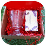 Bee Glass Mug & Soap Box