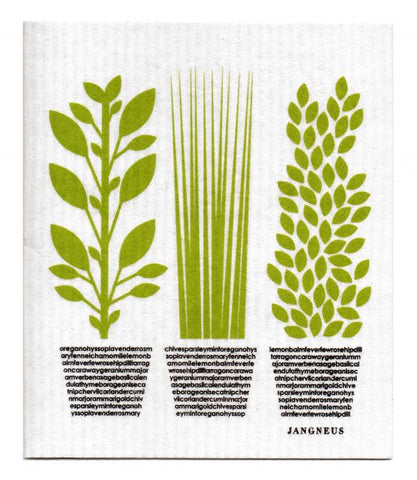 Herbs Dishcloth