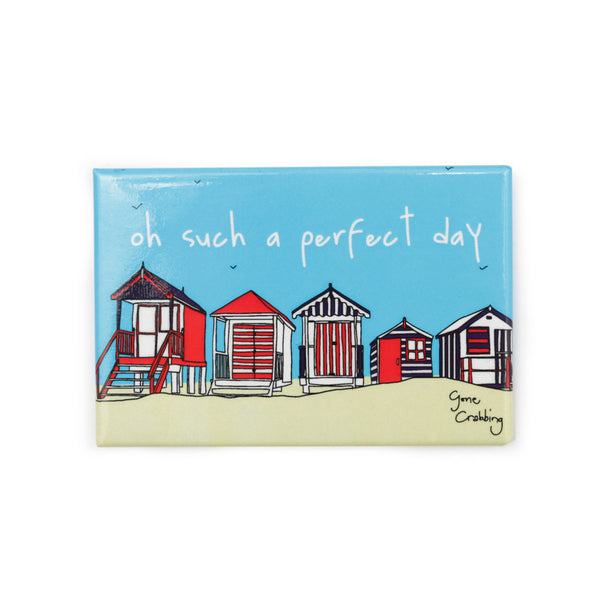 Gone Crabbing Magnet - 'Oh Such a Perfect Day'