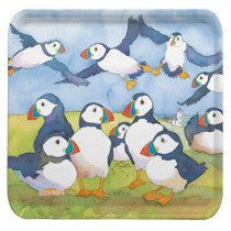 Emma Ball Puffins Square Tray