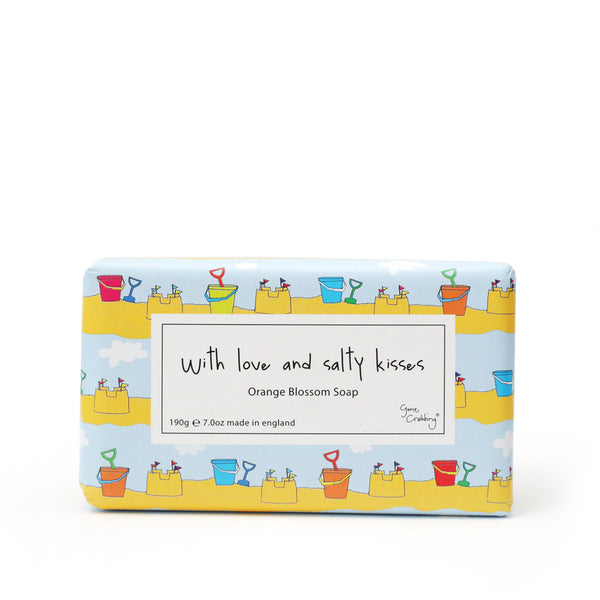 Gone Crabbing Soap Bar - 'With Love and Salty Kisses'