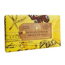 Sicilian Lemon & Sweet Orange Soap Bar