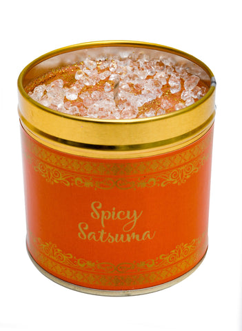 Christmas Scented Candle Tin - Spicy Satsuma
