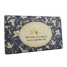 Winter Flowers Soap Bar