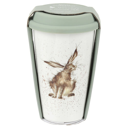 Wrendale Royal Worcester 'Good Hare Day' Travel Mug