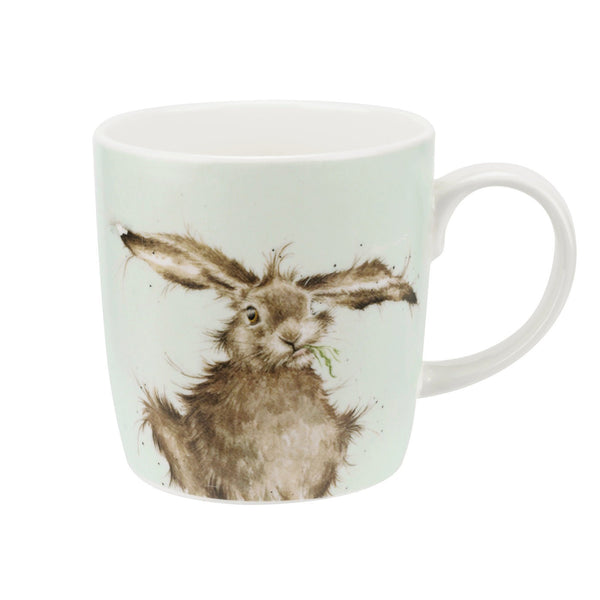 Wrendale Royal Worcester 'Hare Brained' Large Hare Mug