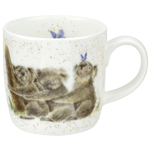 Wrendale Royal Worcester 'Three of a Kind' Koala Mug