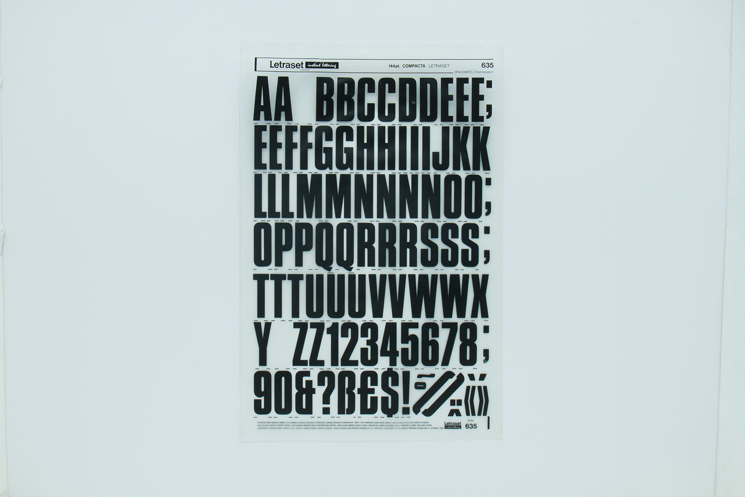 Designers pick their favourite Letraset typeface – Unit Editions